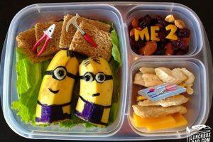 Los creativos lunch de papá Foto:LuchDad