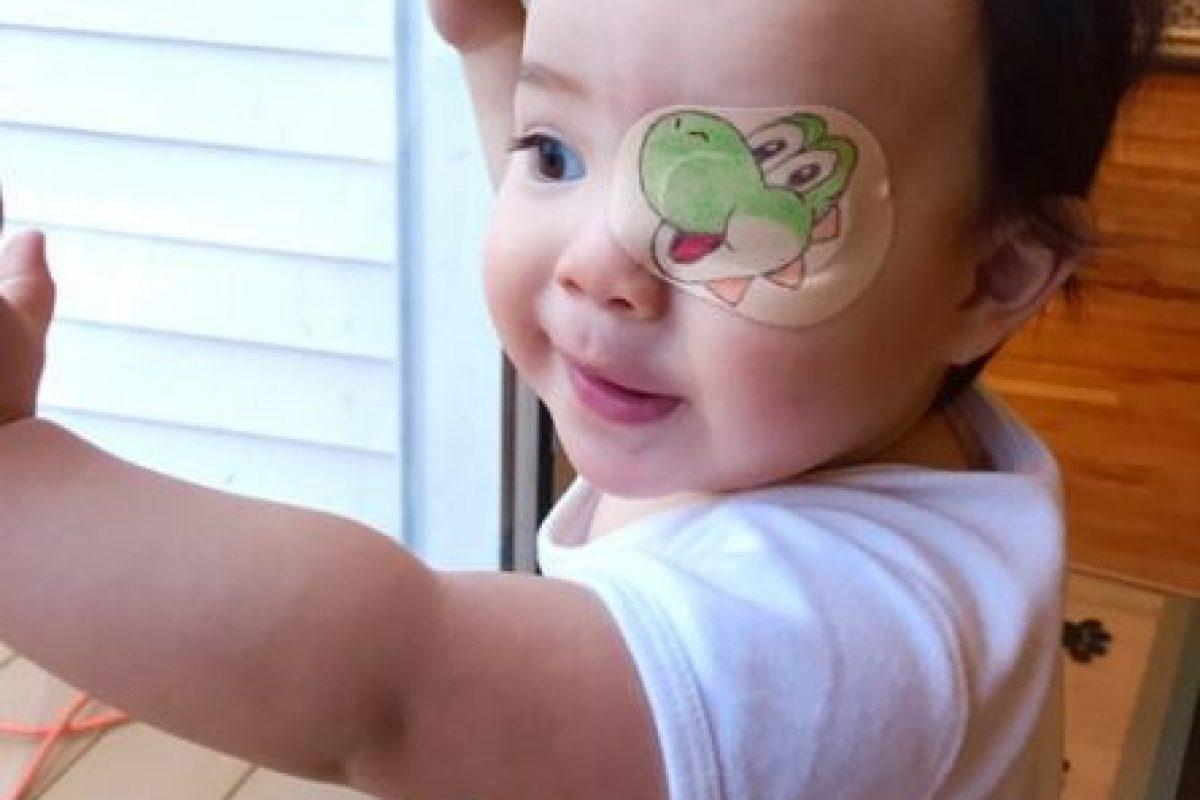 Decora el parche de su hijo cada día. Foto:Pinterest