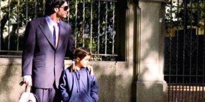 Él la lleva todos los días a la escuela. Foto:Pinterest