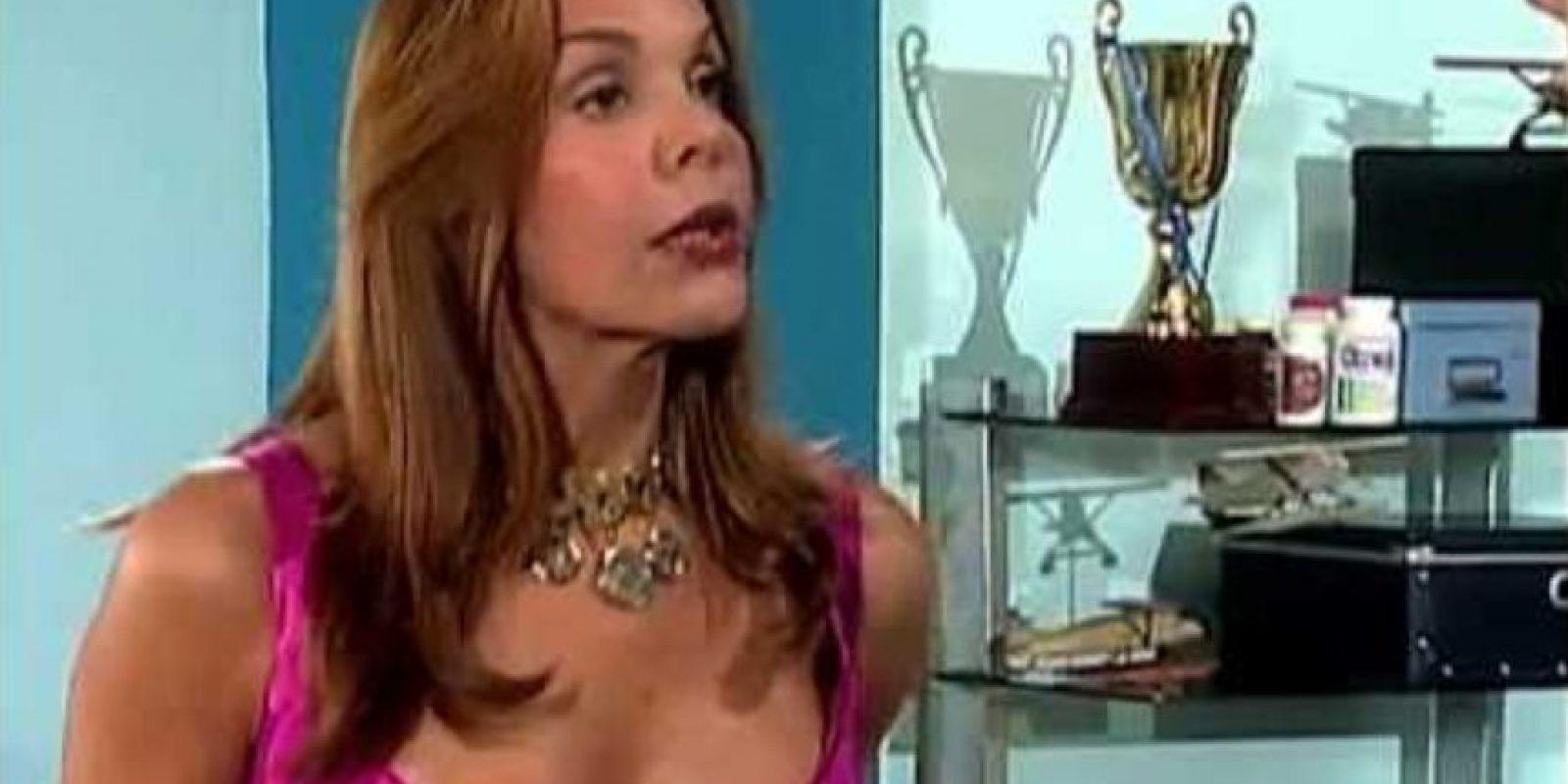 "Hilda Abrahamz era la malvada y fraudulenta ""Olimpia Mercouri"". Foto:vía RCTV"