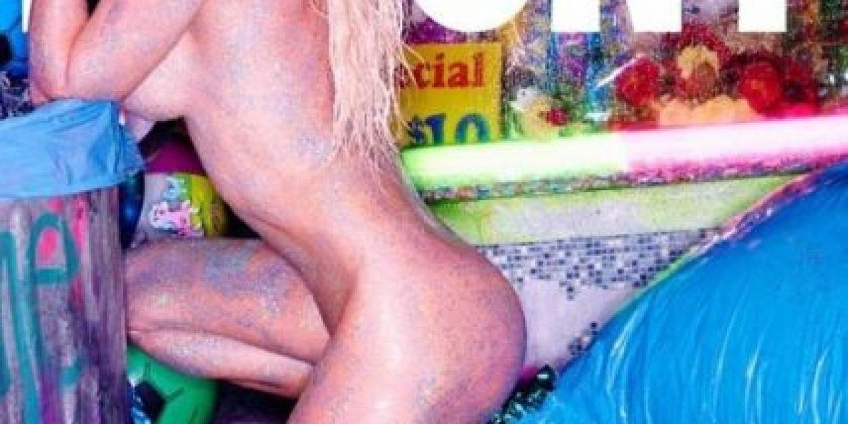 Pamela Anderson posó sin ropa para la revista