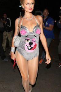 Y Miley vestida de osito cariñosito. Foto:vía Getty Images