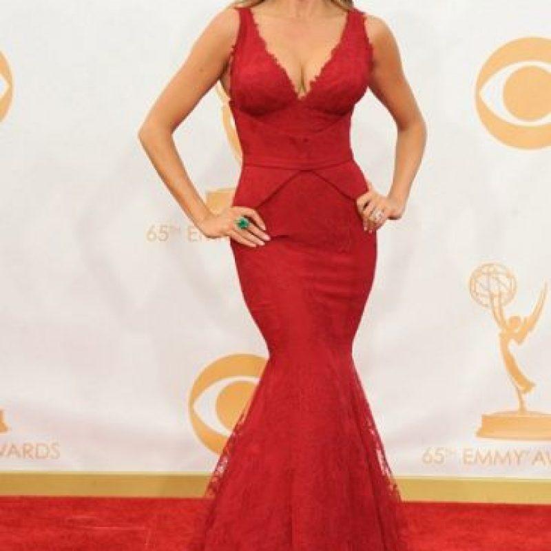 Otro, que emula sus curvas. Foto:vía Getty Images
