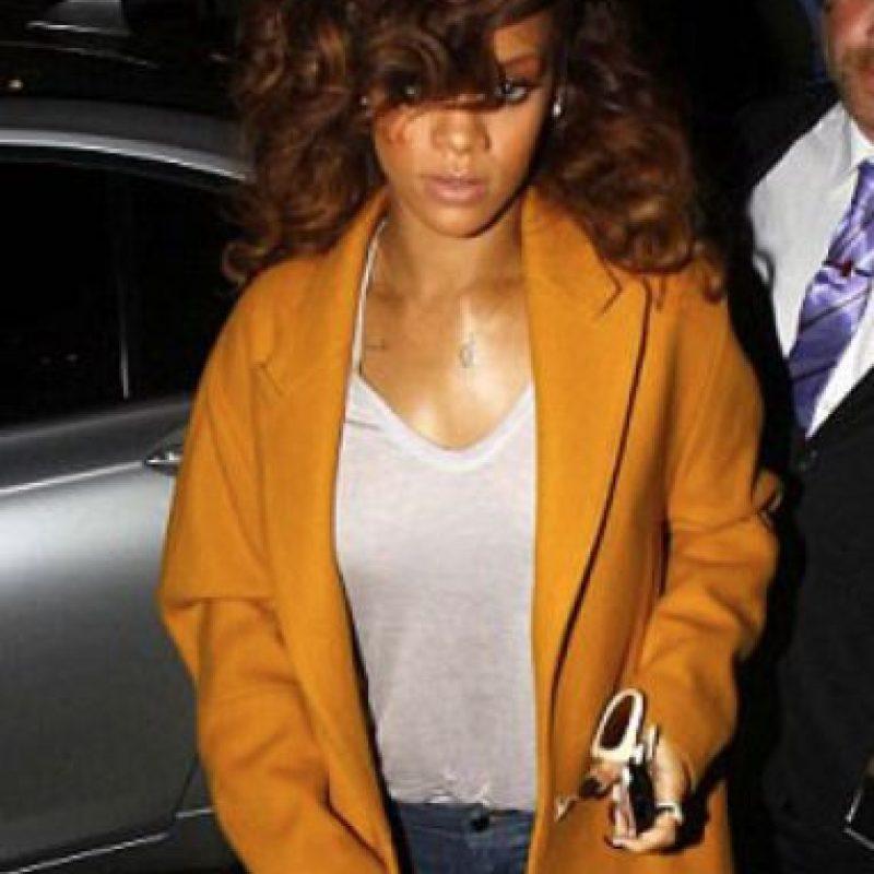 Rihanna. Foto:vía Getty Images