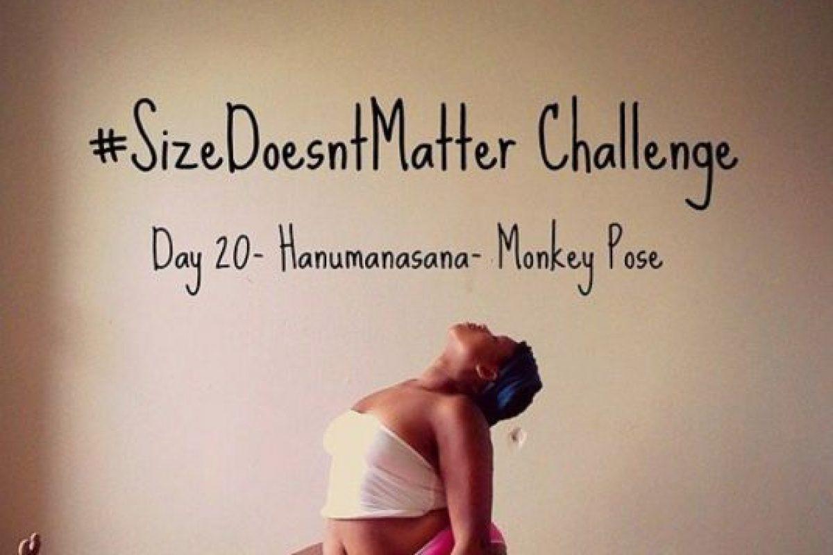 1. Yoga: se tiende a ver esta práctica como exponente de personas esbeltas, con fibra en su cuerpo y flexibilidad extrema. Pero Jessamyn Stanley tiene las últimas dos cualidades y aún así es maestra de yoga. Foto:vía Instagram/jessamynstanley