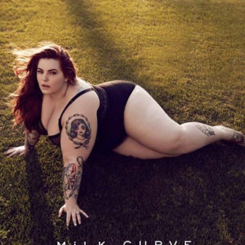 5. Modelar: Las modelos de talla grande ya tienen un espacio conquistado en la moda, pero no tan grandes como Tess Holliday. Foto:vía Facebook/Tess Holliday