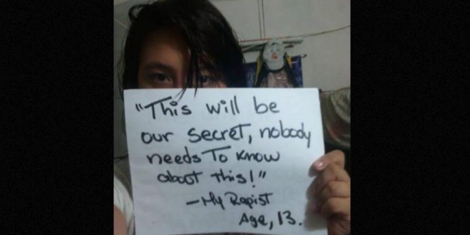 """""""Este será nuestro secreto, nadie necesita saberlo"""" Foto:vía Project Unbreakable"""