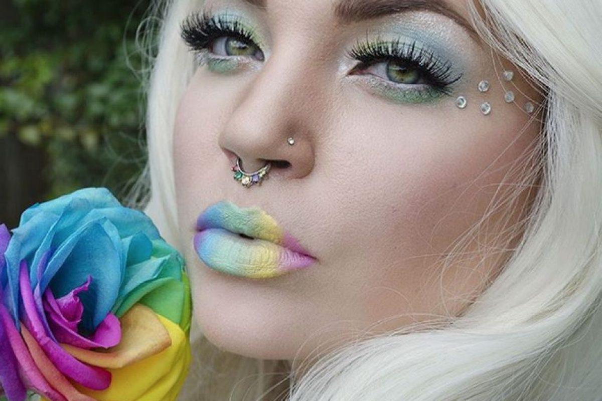 11. Multicolor Foto:Vía instagram.com/explore/tags/rainbowlips