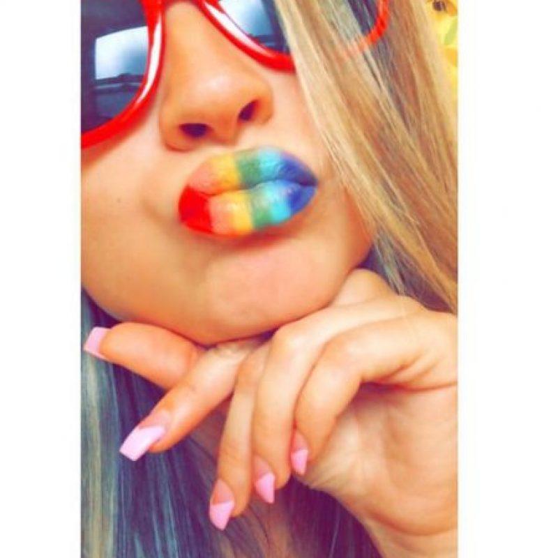 Foto:Vía instagram.com/explore/tags/rainbowlips