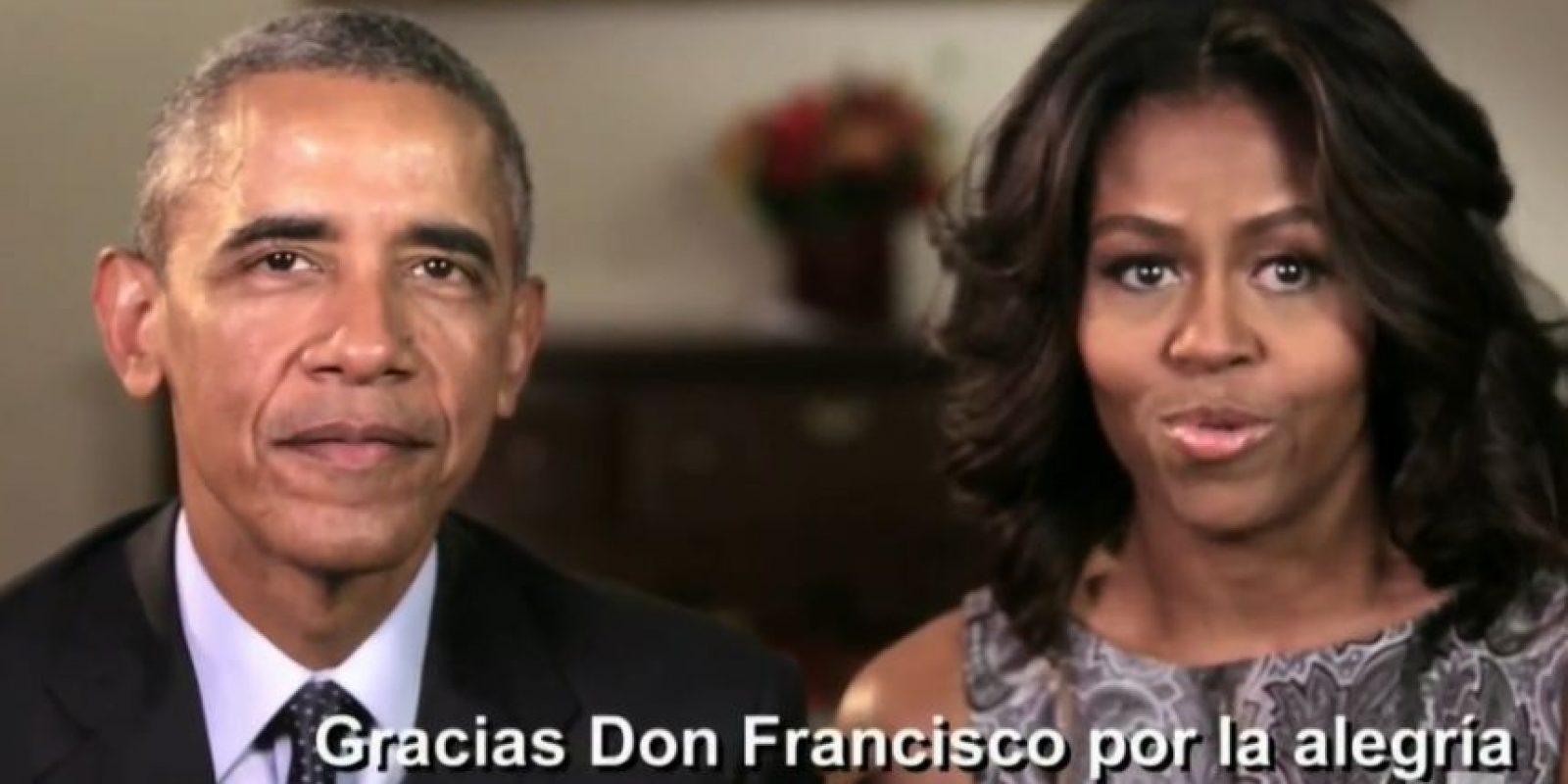 Reconocieron su labor en la comunidad latina. Foto:vía Twitter/Univision