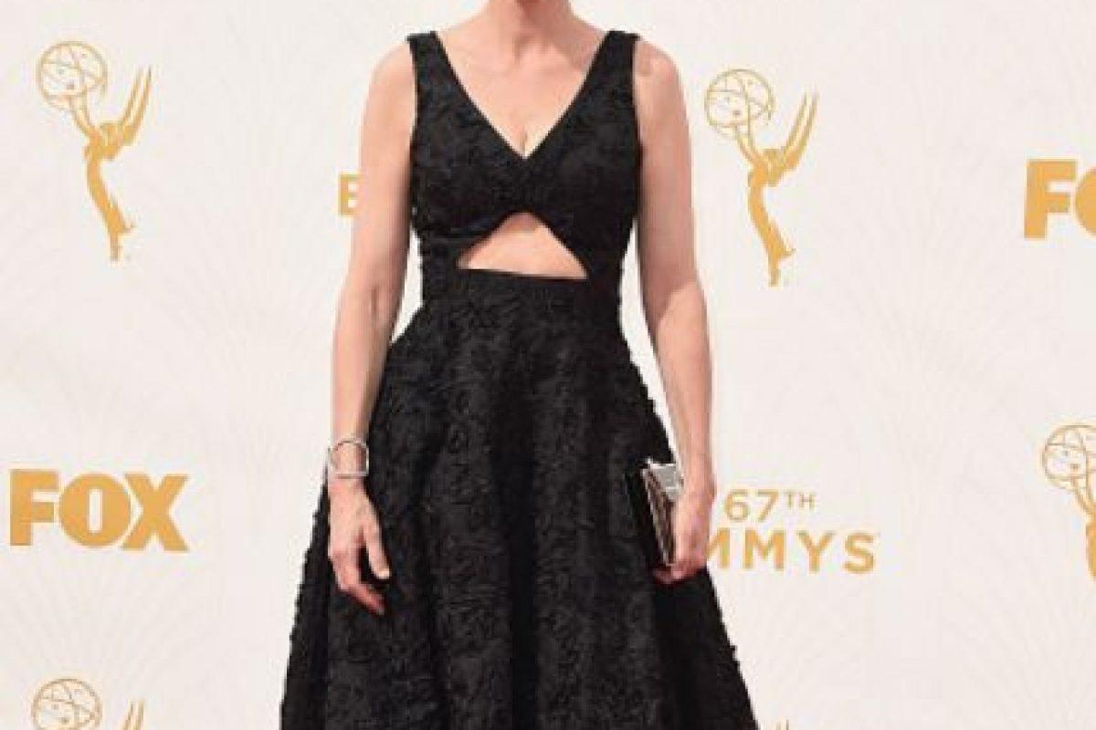 Amanda Peet, como nunca antes se le había visto. Foto:vía Getty Images