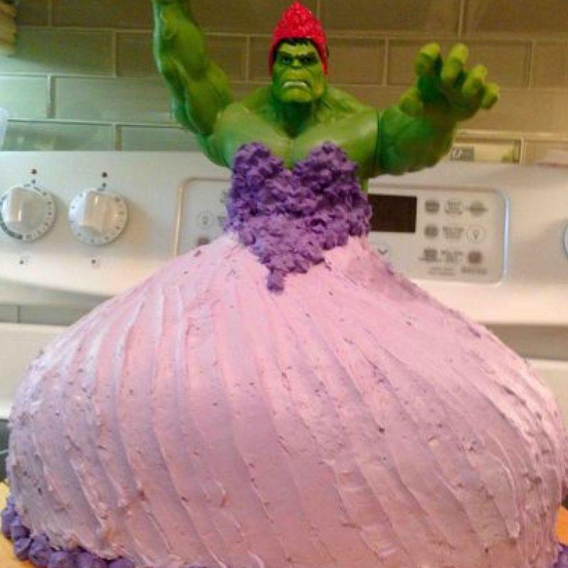 ¿Princesa Hulk? Foto:Imgur