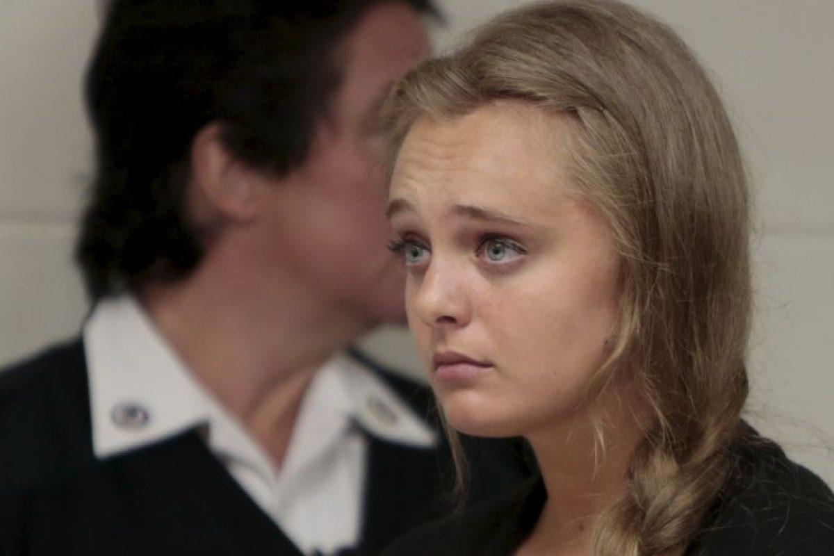 """""""Todos estarán tristes por un rato, pero podrán superarlo"""", le escribió a su entonces novio Foto:AP"""