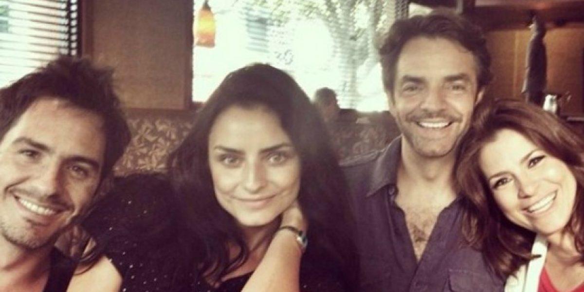 Filtran fotos íntimas del novio de Aislinn Derbez