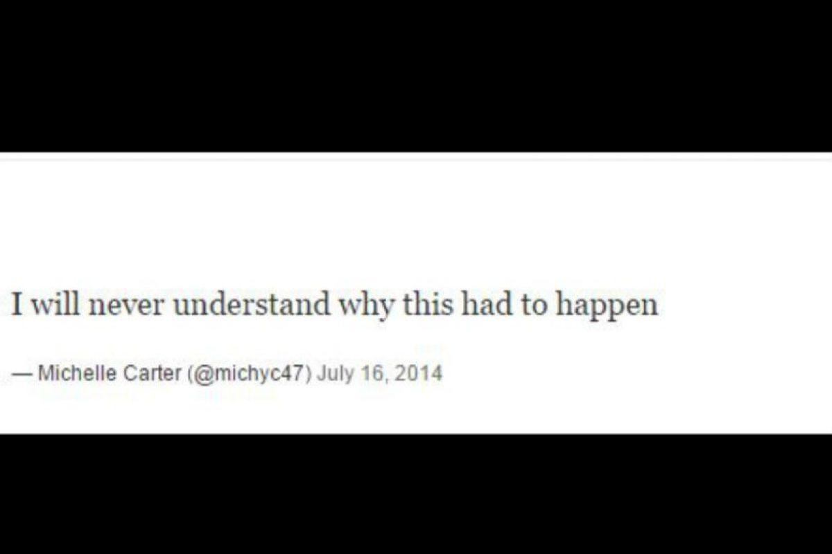 """""""Nunca entenderé cómo pudo pasar esto"""", escribió ella en su cuenta de Twitter, una vez que Roy había muerto Foto:Twitter – Archivo"""