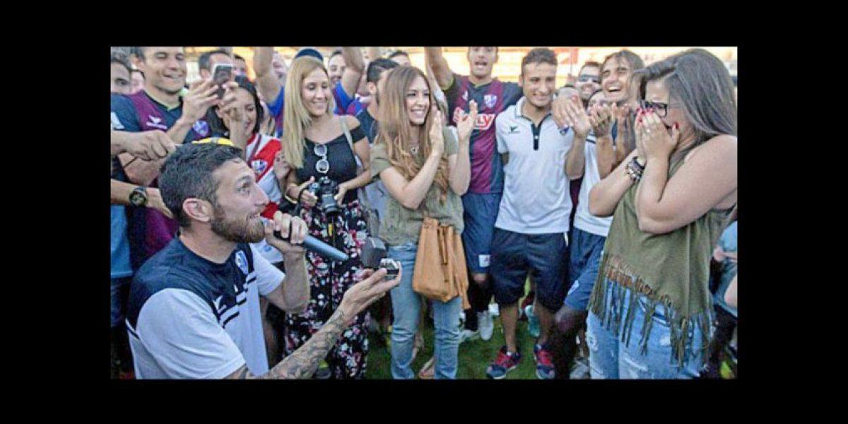 La petición de matrimonio más romántica del fútbol español