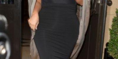Kim Kardashian y su atrevido look premamá ¡sin ropa interior!
