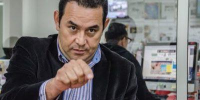 """Jimmy Morales: """"No soy el plan B de Manuel Baldizón"""""""