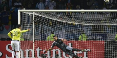 Argentina avanzó y espera al vencedor del juego Brasil-Paraguay en las semifinales. Foto:AFP