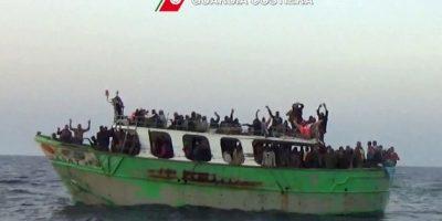 5. Tragedia de migrantes en el mar Mediterráneo. Foto:AFP