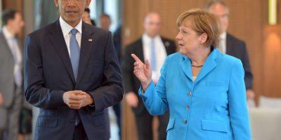 Barack Obama y Angela Merkel piden mantener sanciones a Rusia Foto:AFP