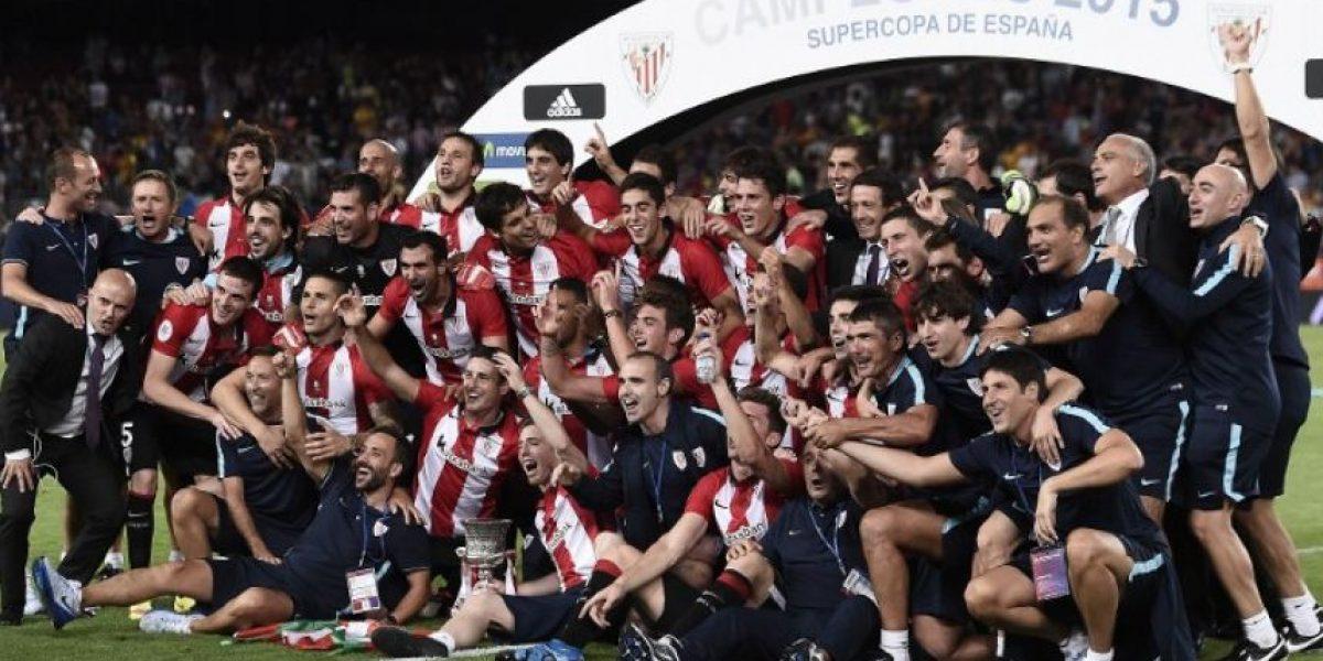 #Supercopa el Athletic deja al Barça sin opción de ganar el sextete
