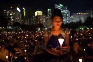 Se cumplen 26 años de la masacre de Tiananmen, en China Foto:AFP