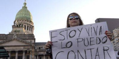 FOTOS: Así se vivió la protesta en Argentina contra los femicidios