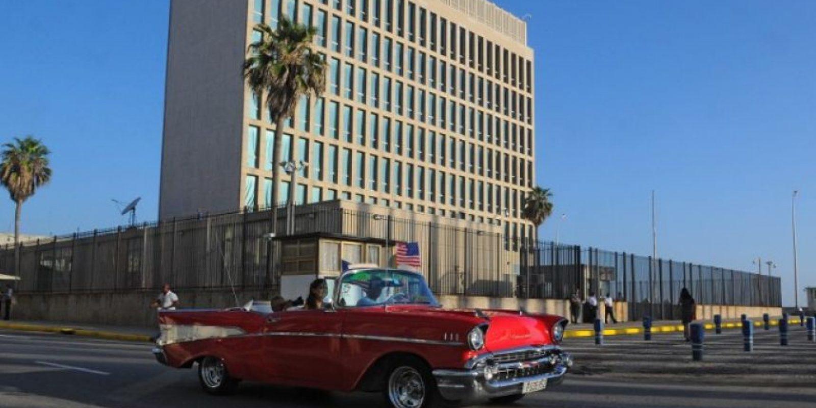 La Embajada de los Estados Unidos cerró en 1961 cuando ambos países rompieron relaciones diplomáticas. Foto:AFP