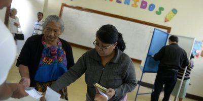 También se elige vicepresidente, 158 diputados del Congreso, 20 del Parlamento Centroamericano y 338 corporaciones municipales. Foto:AFP