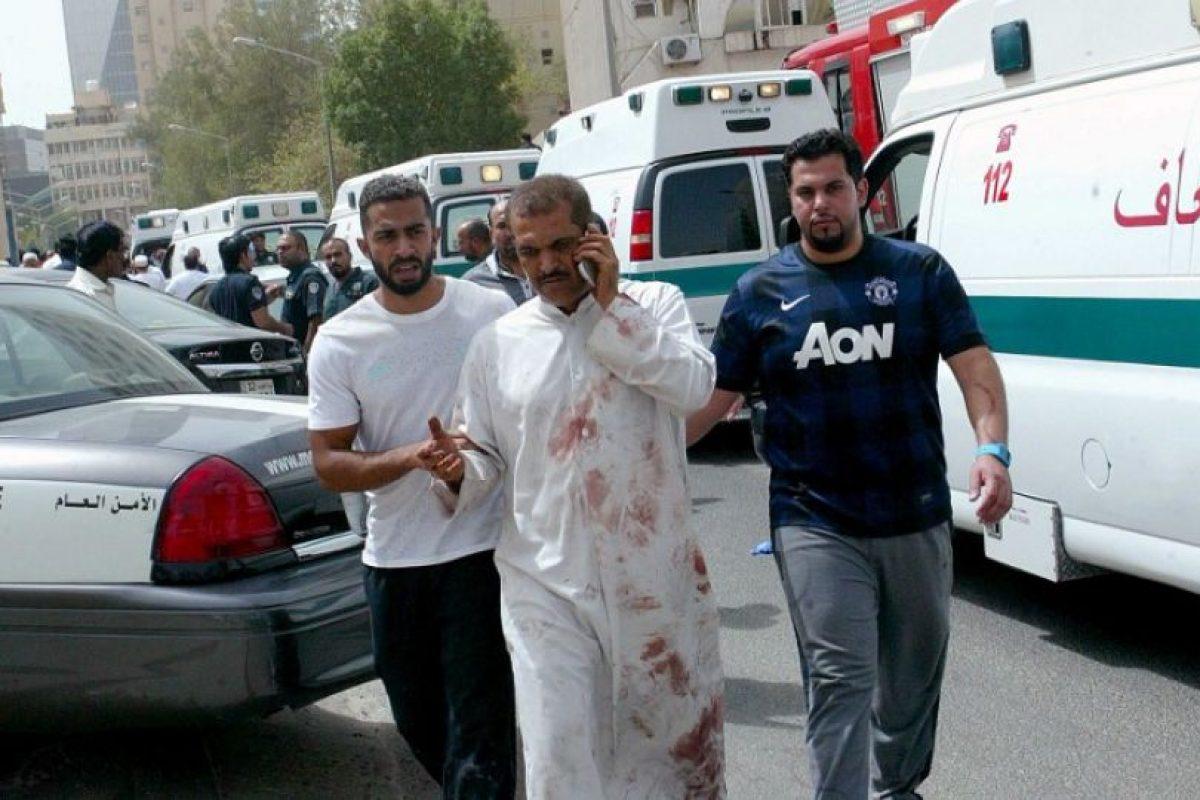 Atentado en Kuwait Foto:AFP