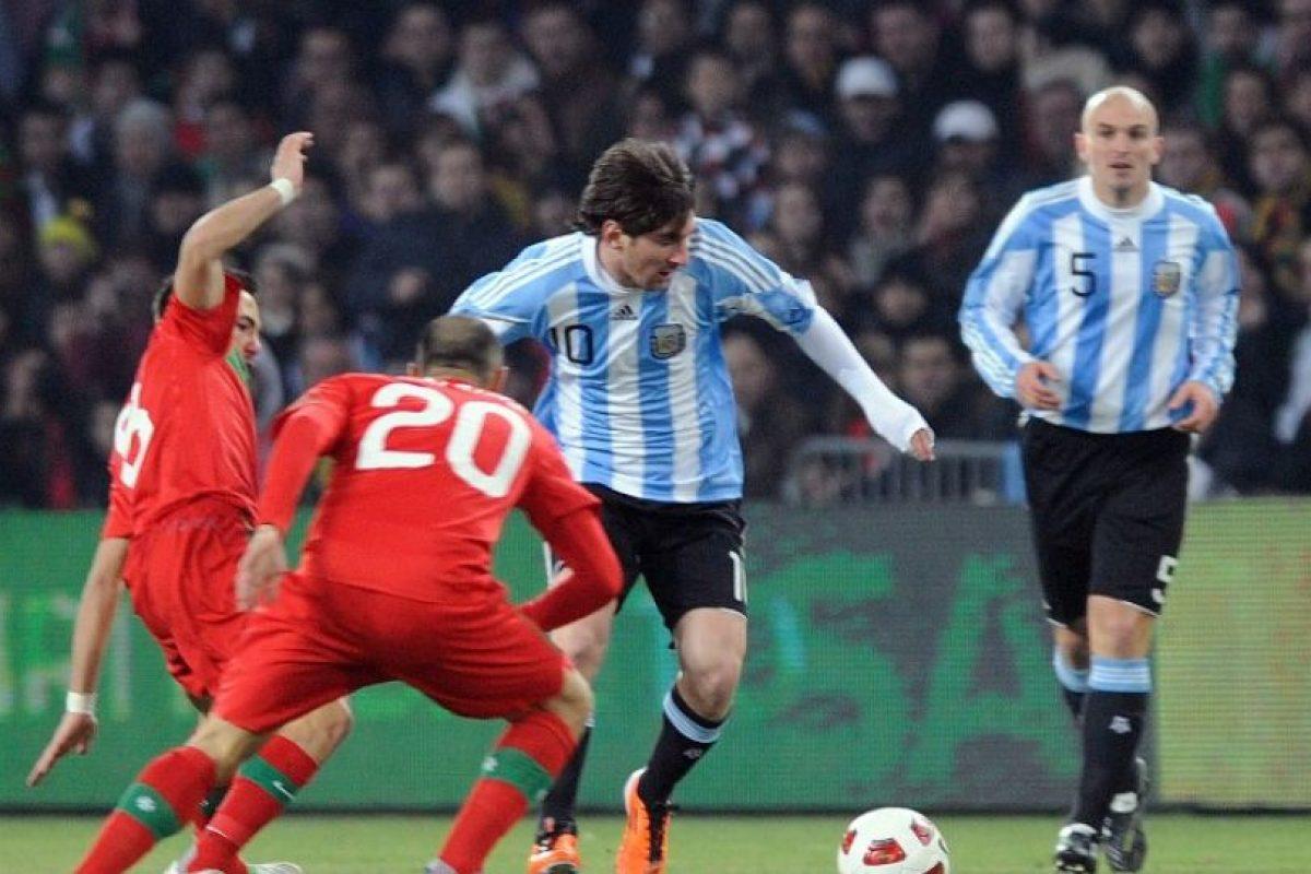 Las actuaciones de Messi con la albiceleste son objeto de fuertes cuestionamientos. Foto:AFP