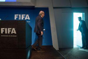 La renuncia de Joseph Blatter, tras 17 años al frente de la FIFA Foto:AFP