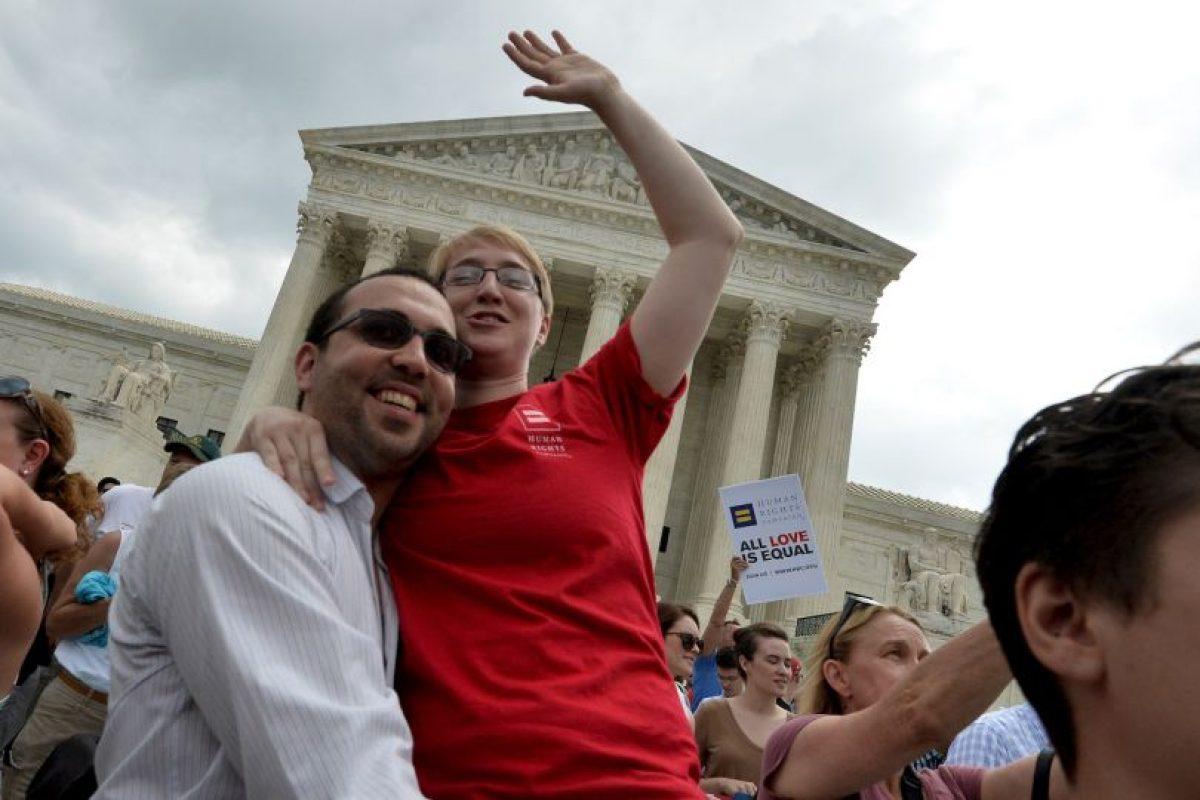 El matrimonio entre parejas del mismo sexo será reconocido en los 50 estados del país. Foto:AFP