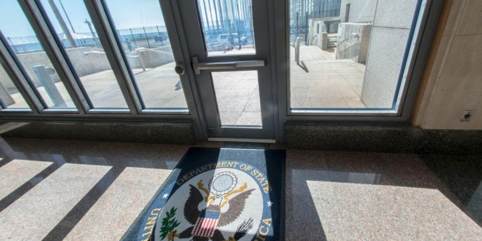 La embajada cubana en Estados Unidos se abrió el pasado 20 de julio. Foto:AFP
