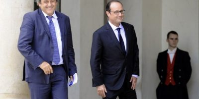El presidente de la UEFA aplaudió la decisión del suizo de dar un paso al costado. Foto:AFP