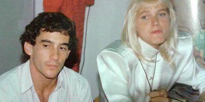 """Mantuvieron una relación a finales de los años ochenta y aunque Senna era una estrella de la Fórmula 1, Xuxa era más famosa que él en Brasil. Fue el piloto el que conquistó a la famosa conductora y ella tras algunos rechazos, se enamoró completamente de él. De hecho, hace algunos años confesó que Senna fue """"al amor de su vida"""". Foto:pinterest.com"""