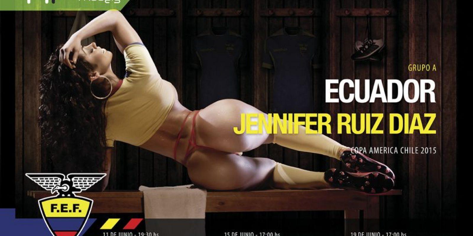 Ecuador Foto:Vía facebook.com/HR-Models