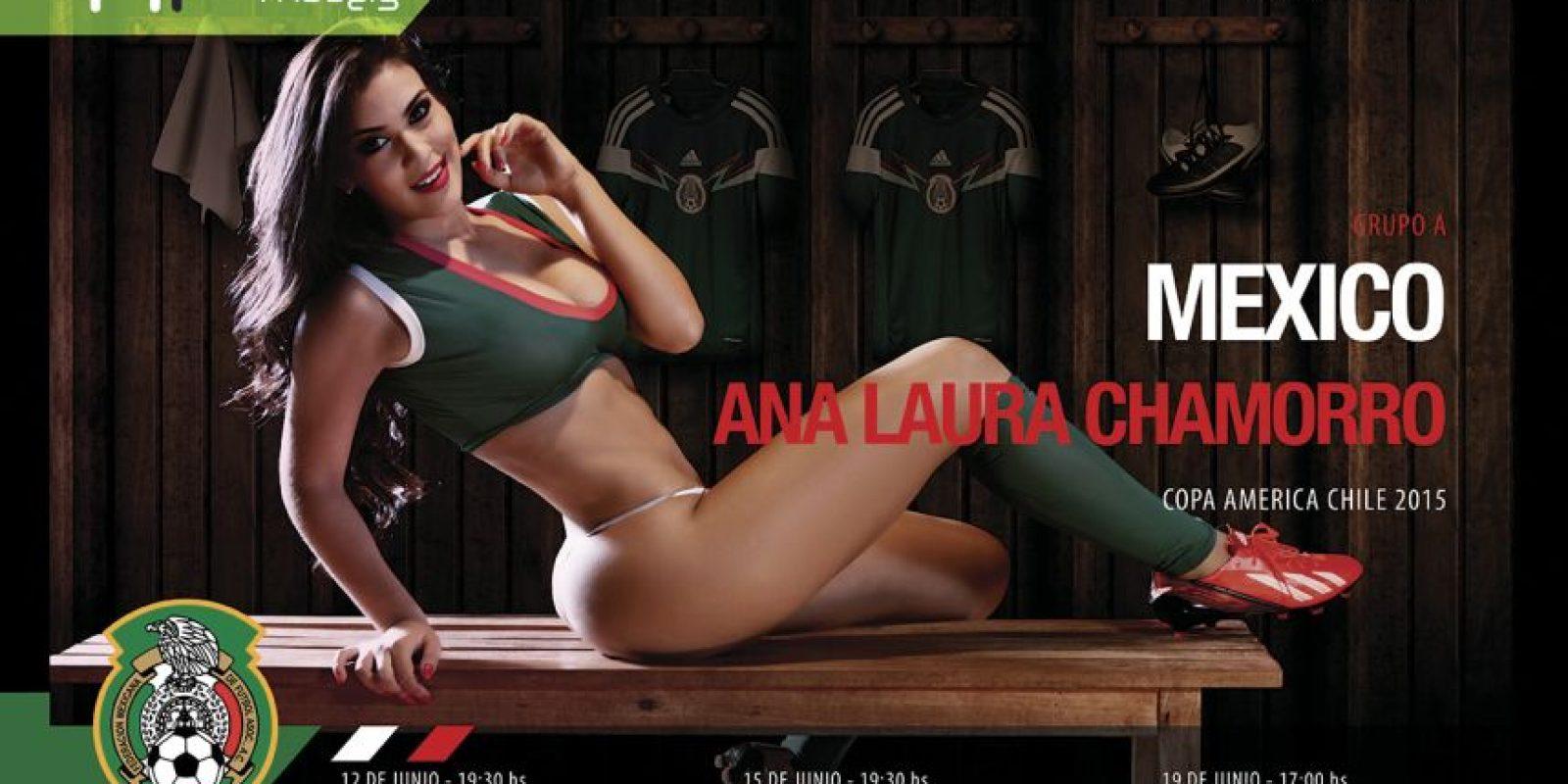 México Foto:Vía facebook.com/HR-Models