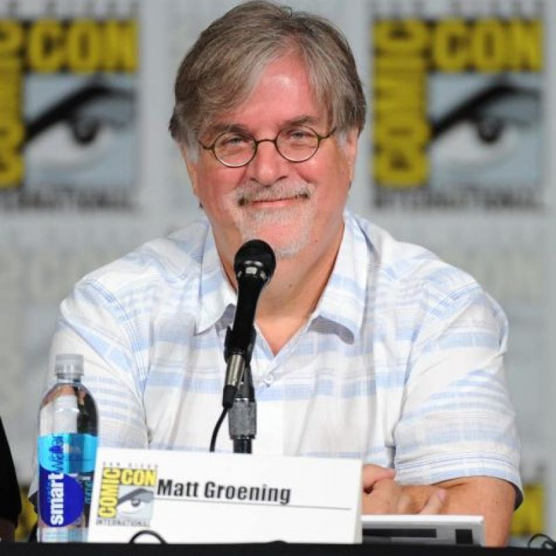 Matt Groening Foto: vía facebook.com/TheSimpsons