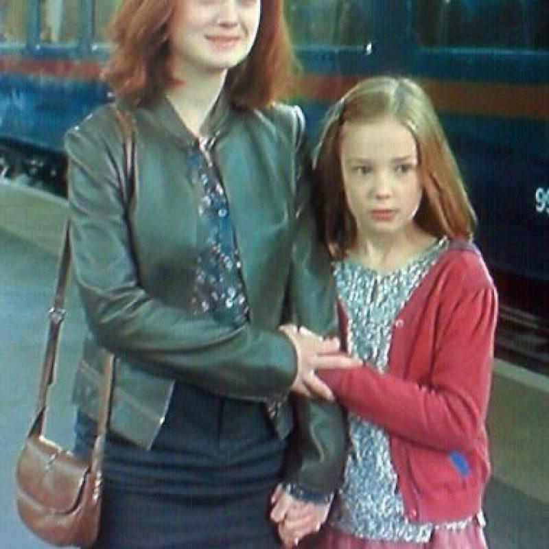 """En 2011, la pequeña Daphne de Beistegui se metió en la piel de la tercera hija de los """"Potter"""". Foto:vía facebook.com"""