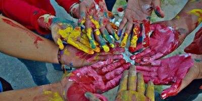 Huehuetenango se pinta de colores con iniciativa cultural juvenil