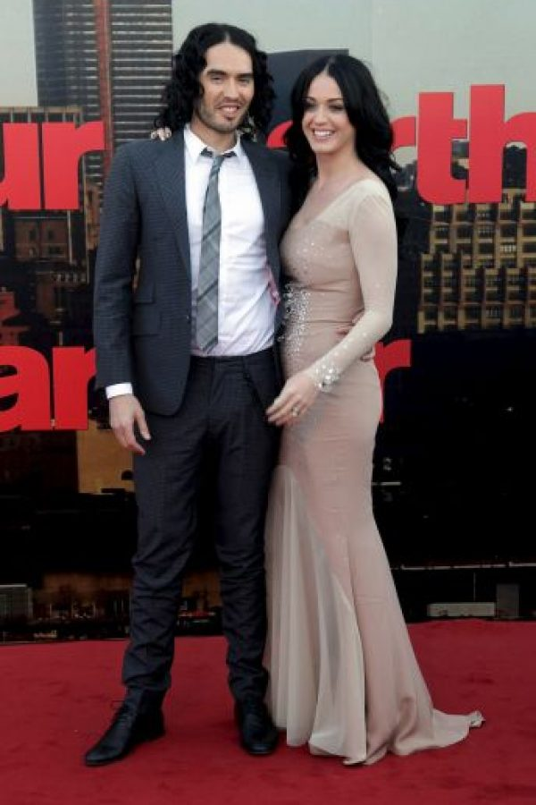 Katy Perry y Russell Brand Foto:Getty Images
