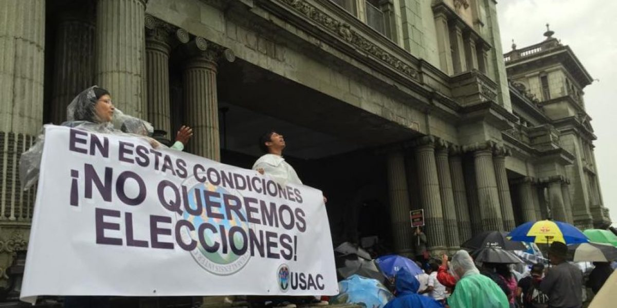 Estos son los guatemaltecos que no claudican y piden #JusticaYa