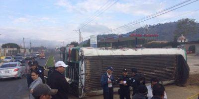 Accidente donde muere niño de 8 años provoca caos vehicular en ruta interamericana