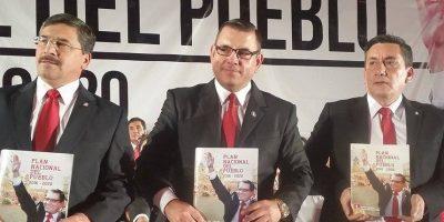 """FOTOS. Este es el """"Plan Nacional del Pueblo"""" que presentó partido Líder"""