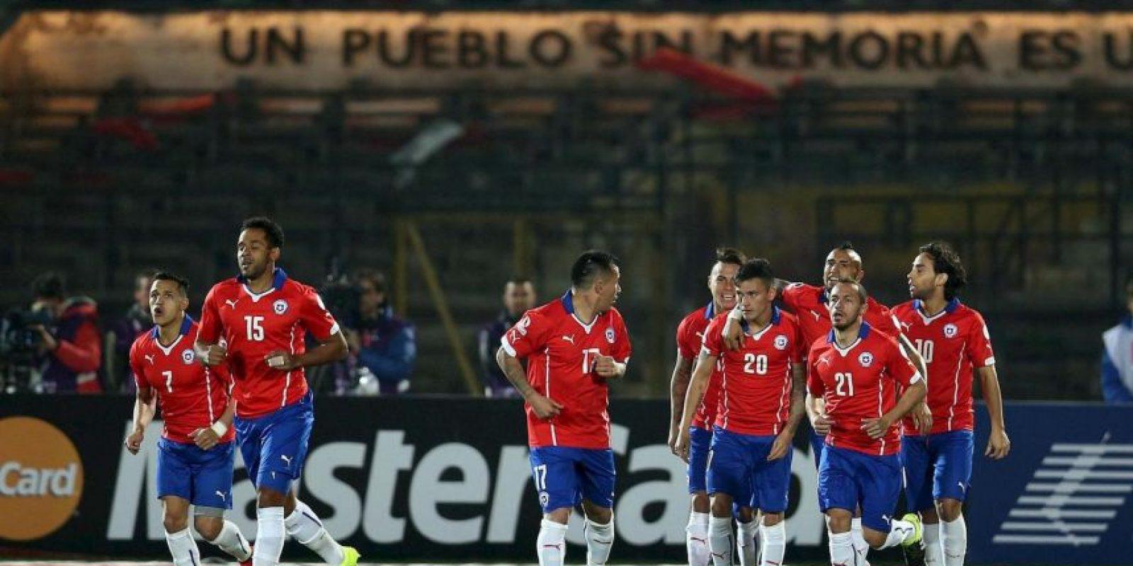 Sin embargo, el torneo ha estado lleno de sinsabores para el equipo chileno al cual se le niega la corona continental. Foto:Vía facebook.com/SeleccionChilena