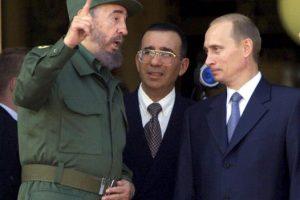 """""""Las ideas no necesitan ni de las armas, en la medida en que sean capaces de conquistar a las grandes masas"""", dijo en 1985 Foto:Getty Images"""