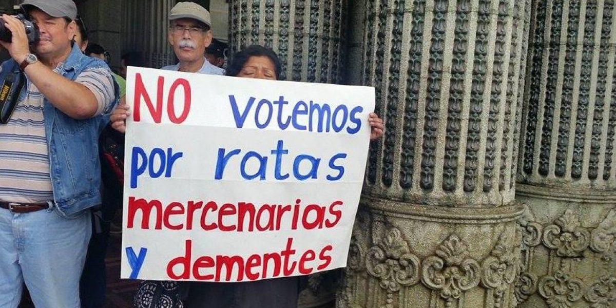 Indignación en #JusticiaYa se desboca hacia el Congreso y las elecciones