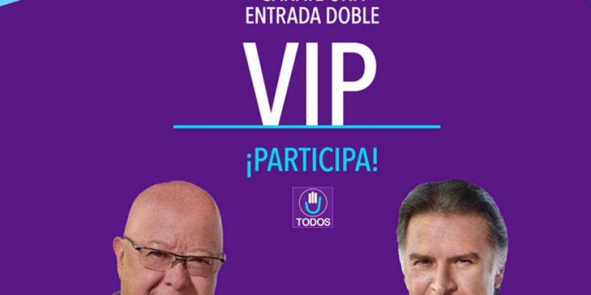 ¿Participarías en un sorteo para ganar un plan de gobierno firmado por Alfonso Portillo?